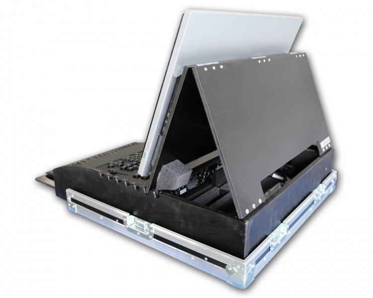 flightcase for ma commandwing med pc tastatur og mus norcase norsk av utstyr. Black Bedroom Furniture Sets. Home Design Ideas
